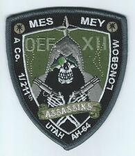 "A CO 1-211th  AVIATION ""ASSASSINS"" OEF XII #2 patch"