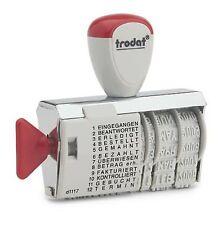 STEMPEL - Datumstempel mit Wortband, Handstempel TRODAT 1117