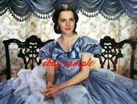 OLIVIA de HAVILLAND COLOR PHOTO from the 1939 movie GONE WITH THE WIND
