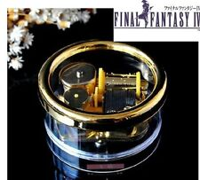 Gorgerous Circle in Gold Wind Up Music Box : Final Fantasy IV Theme Soundtrack