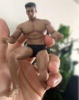 "1/12 Scale Super Flexible Strong Male Muscle Body+Man Head Sculpt 6"" Figure Dol"