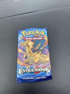 1 x Pokemon TCG - XY Evolutions - Booster Pack - New & Sealed : Random Artwork