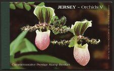 JERSEY 2004 Orchids PRESTIGE BOOKLET SB63 FV £10.73  #M035