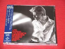 DAVID BOWIE Live Nassau Coliseum '76  JAPAN 2 CD SET