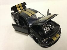 2008 Ford Shelby GT-500KR, Collectible Diecast 1:24 Scale, Jada Toys, Black/Gold