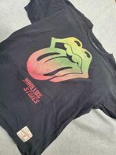 Black Mens The Rolling Stones 50th Anniversary Logo T-Shirt US Men's trend XL