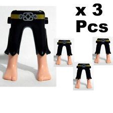 Playmobil 3 Pcs  Long Dress without Legs Beine Piernas