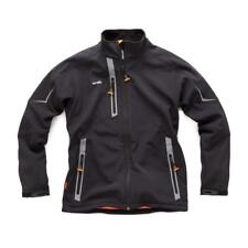 Scruffs Pro Softshell Jacket Waterproof Technical Work Coat Black or Charcoal