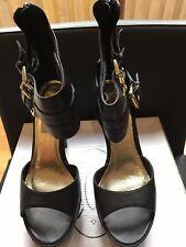 Ladies dressy high black sandles