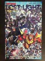 Transformers Lost Light #25 Retailer Incentive Variant IDW 2018 Comic Book NM