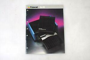Polaroid 8X10 Film Procession Holder / Loading Tray / RARE / How To Brochure