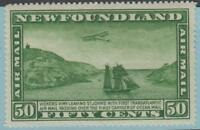 NEWFOUNDLAND C10 MINT HINGED OG * NO FAULTS EXCELLENT !