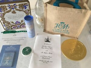 Royal Wedding Official Gift Goody bag - Prince Harry And Meghan 19 May 2018