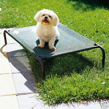 Coolaroo Raised Dog Bed, Cat Pet, SMALL GREEN Indoor and Outdoor Top Quality