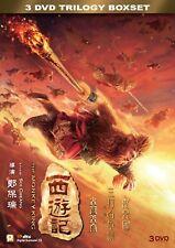 """Aaron Kwok """"Monkey King Trilogy"""" Soi Cheang Action Fantasy Region 3 DVD Boxset"""