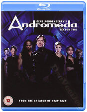 Andromeda (Season 2) NEW Cult Blu-Ray 5-Disc Set A. Eastman Kevin Sorbo L. Ryder