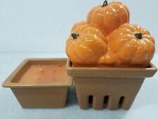 HomeWorx by Harry Slatkin Pumpkin Candle Set Ch