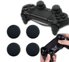 4X Black Silicone Gel Thumb Grips For PS4 /PS3 /Xbox 360 /XboxOne Controller LOC