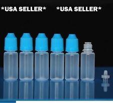 50 pcs 15ml Empty Plastic Squeezable Dropper Bottles