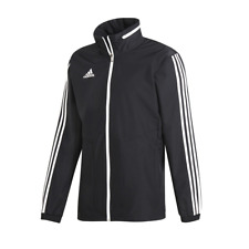Adidas Black/White Tiro All-Weather Jacket