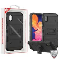 Samsung GALAXY A10E Shockproof Impact Tuff HYBRID Armor Rugged Phone Case Cover