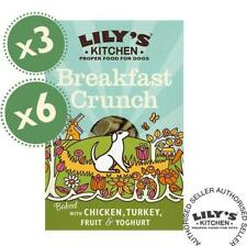Lily's Kitchen Breakfast Crunch - Adult Dog Baked Treats (3 or 6 Pack x 400g)