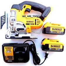 DeWalt DCS331 20V Cordless Speed Jig Saw,(2) DCB204 4.0 Battery, Charger 20 Volt