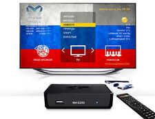 Russische TV IPTV Mag 250 Internet TV SET TOP BOX AURA HD 12 Monate Magx Portal