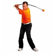 "NEW Orange Whip Golf Swing Trainer 47""inches for Tempo, Balance, and Swing Plane"