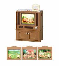 Sylvanian Families Calico Critters Ka-516 LIVING TV Set 59905 JAPAN