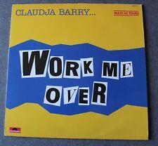 Claudja Barry, work me over / i will follow him, Maxi vinyl