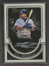 2018 Topps Museum Collection Framed Kyle Schwarber Silver Ink AUTO 4/15
