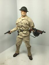 1/6 DRAGON US 6TH INFANTRY DIV M.SGT THOMPSON & COLT SIDESHOW DID BBI 21st WW2