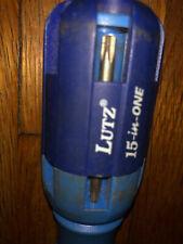 Lutz 15-IN-1 Ratcheting Screwdriver Set