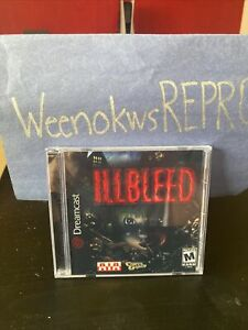 Illbleed REPRODUCTION CASE No Disc Dreamcast