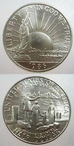 USA $1/2 Half Dollar 1986 Gem BU Statue Liberty Centennial America Money Coin