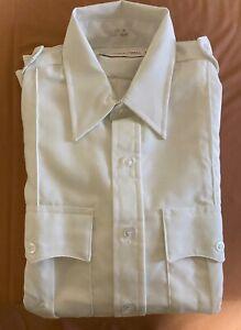 Horace Small Professional Apparel Deputy White Long Sleeve Shirt 15 1/2 - 33