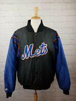 Vintage 1990s MLB Majestic Authentic New York Mets Jacket Mens XL 90s vtg