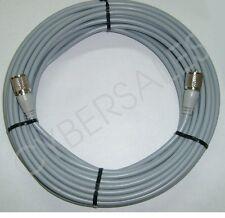 Workman 50 foot ft. Gray RG8X Antenna Cable mini8 coax PL259 ends CB / Ham Radio