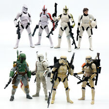 "Star Wars Black Series 6"" Action Figure Model Toys Han Solo Stormtrooper No Box"