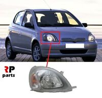 FOR TOYOTA YARIS 1999 - 2003 NEW FRONT HEADLIGHT LAMP H4 RIGHT O/S LHD