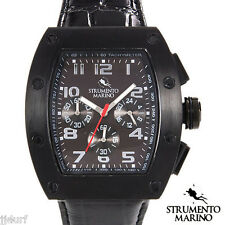 STRUMENTO MARINO TUNA Collection, Chronograph Watch SM056LBK/BK, Men's, Italy