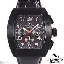 STRUMENTO MARINO TUNA Collection, Chronograph Watch SM056LBK/BK, Men's, Italy