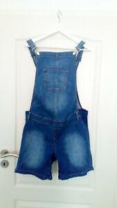 Esprit Maternity Jeans Latzhose kurz Größe 40 Umstandsmode Schwangerschaft