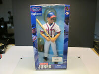 1998 STARTING LINEUP SLU MLB CHIPPER JONES ATLANTA BRAVES POSABLE FIGURE Doll
