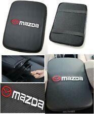 UNIVERSAL MAZDA Carbon Fiber Car Center Console Armrest Cushion Mat Pad Cover