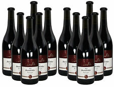 12 Fl. 2012 Dornfelder Rotwein Barrique trocken Weingut Wachter Bronze prämiert