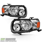 2005-2007 Ford Escape Factory Style Headlights Headlamps Replacement Leftright