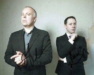 Reece SHEARSMITH & Steve PEMBERTON SIGNED Photo 3 AFTAL COA League of Gentleman