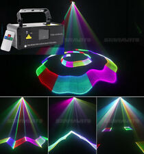 Mini Party Lights DMX 3D Effect 400mW RGB Laser Show DJ Christmas Light